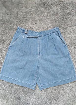 Джинсовые шорты мом.