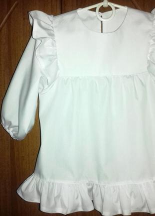 Блуза белая2
