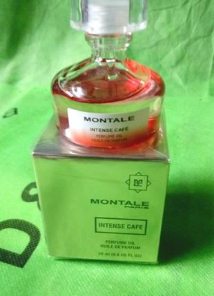 Montale intense cafe huile de parfum original refillis' 20 ml (парфюмерное масло)