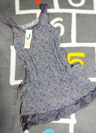 Сарафан платье в цветочек новый брендовый размер l1 фото
