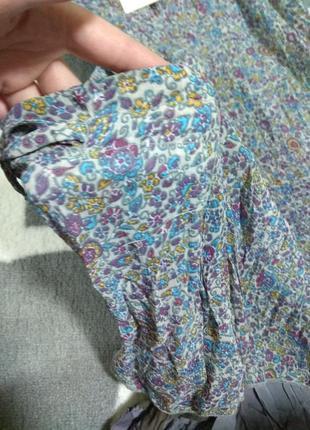 Сарафан платье в цветочек новый брендовый размер l3 фото