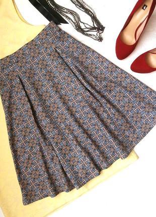Стильная расклешенная юбка stradivarius, юбка миди