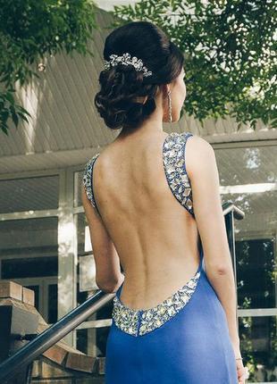 Вечернее выпускное длинное платье sherri hill