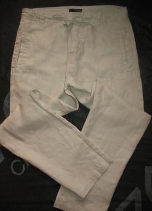 Льняные брюки/штаны john rocha размер w34l32