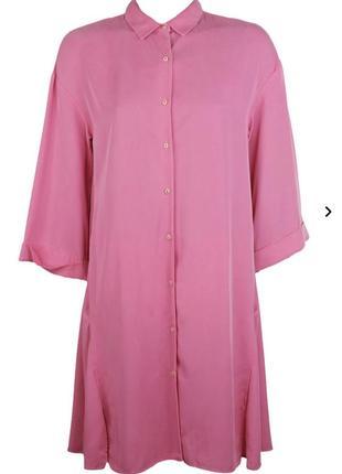Яскраве плаття-сорочка zara