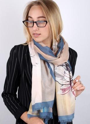 Палантин ( шарф широкий ) деми