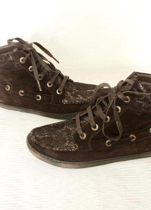 """Комфортные кожаные ботиночки от """"footnotes"""", 37,5 р"""
