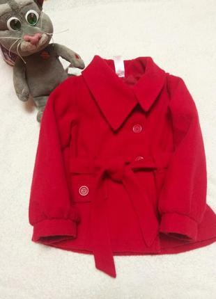 Демисезонное пальто e-vie angel для девочки 2-3годика.