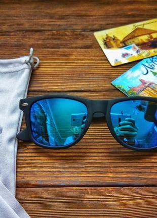 Сонцезахисні окуляри aofly з поляризацією сині