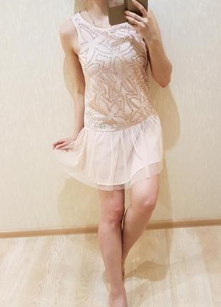 Изумительно нарядное платье 13-14лет george