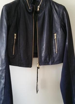 Куртка кожаная twin-set