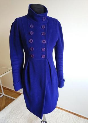 Эффектное пальто , цвет электрик frizman
