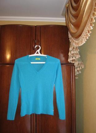 Пуловер witty knitters, 100% натуральный кашемир, размер s/m