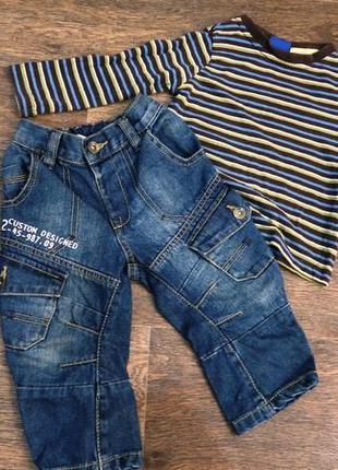 Стильный костюм. трикотажный реглан и крутые джинсы