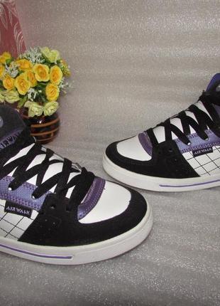 Крутые кроссовки ботинки натуральная кожа ~ airwalk~ р 36
