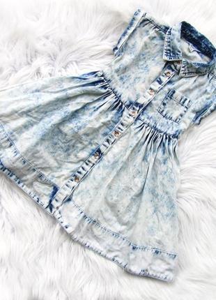 Стильное джинсовое платье river island