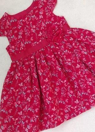 Новое шикарное платье george на 0-3 мес и дольше