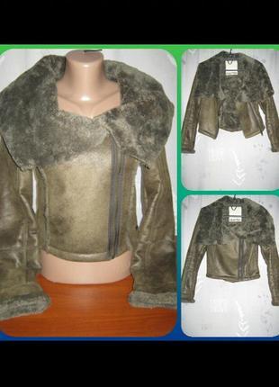 Куртка курточка дубленка