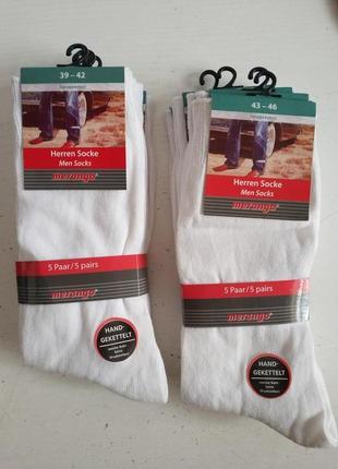 Мужские носки 5 пар merango оригинал германия европа