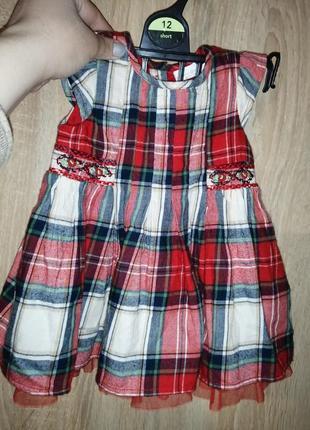 Платье на девочку 3 мес.