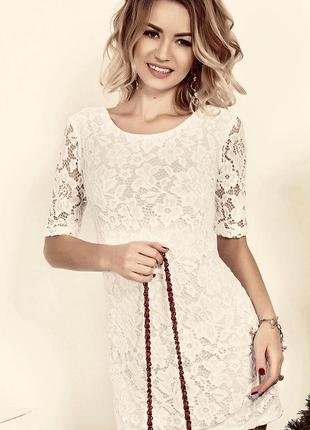 Кружевное мини-платье divided+подарок!!!