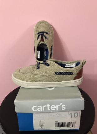 Carter's кеды для девочек и мальчиков 27 размер