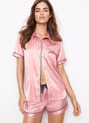 Victoria secret сатиновая пижама для сна victorias secret шортики виктория  сикрет 509facc186f6c