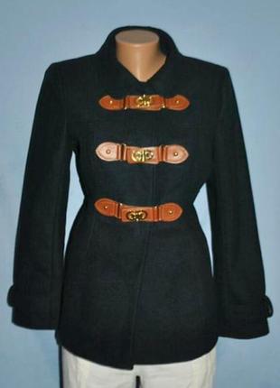 Шикарное ,приталеное полупальто,пальто-шинель