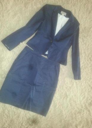 Костюм h&m пиджак + юбка