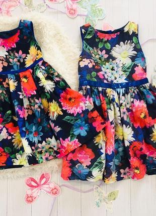 Нарядное платье в цветы autograph