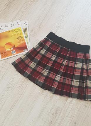 Стильная юбка-шотландка