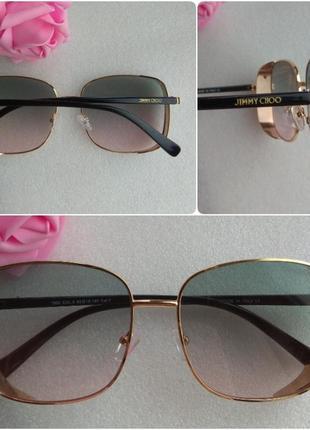 New 2019! новые стильные очки с боковой защитой, зелено-розовые