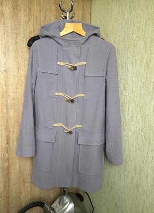 Пальто кежуал лавандового цвета