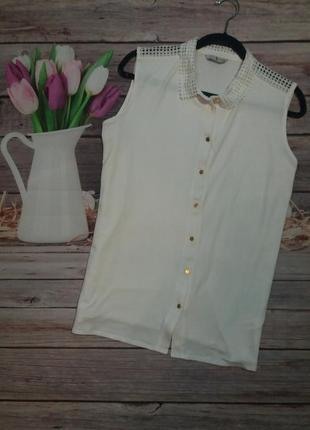 Модная трикотажная рубашка
