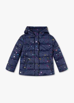 Деми куртка девочкам c&a 116