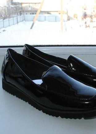 Туфли кожаные gerry weber