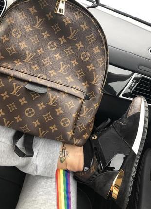 Рюкзак louis vuitton средний размер стильный