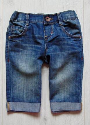 M&s. размер 3-4 года. стильные джинсовые шорты для мальчика