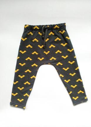 Детские трикотажные штаны для мальчика бетмен