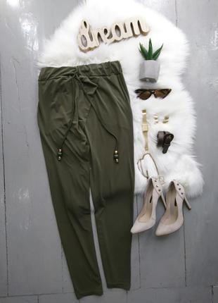 Актуальные зауженные брюки №303