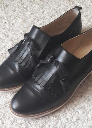 Туфли лоферы оксфорды navyboot