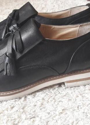 Туфли лоферы оксфорды navyboot3 фото