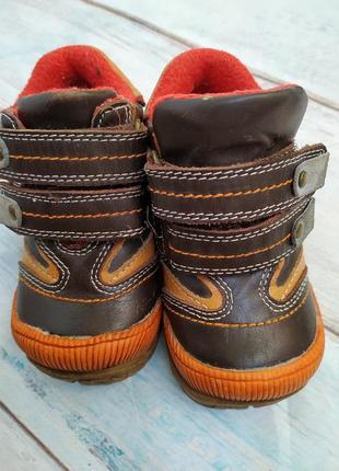 Ботинки кожа котофей размер 20,стелька 12 см