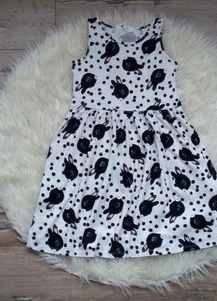 Платье в котики