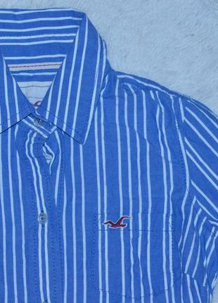 Актуальная рубашка в полоску от hollister