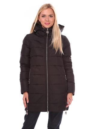 Удлиненная  куртка для межсезонья или теплой зимы