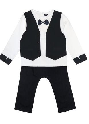 Новый костюм для мальчика, kiabi, vm378