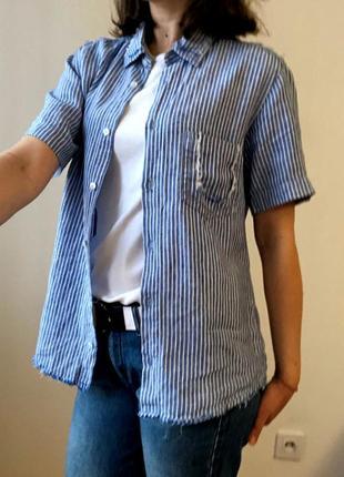 Рубашка льняная g3000
