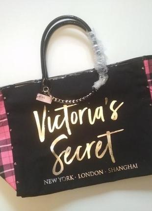 ❤️распродажа❤️сумка шоппер, пляжная сумка виктория сикрет