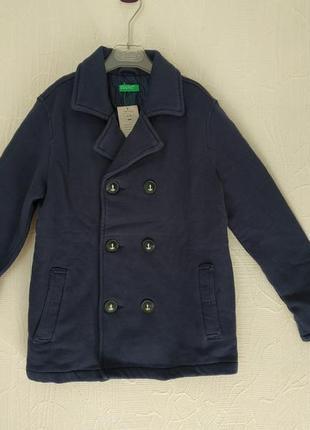 Демисезонный классический жакет пальто united colors of benetton